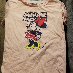Ladies Disney minnie mouse tee